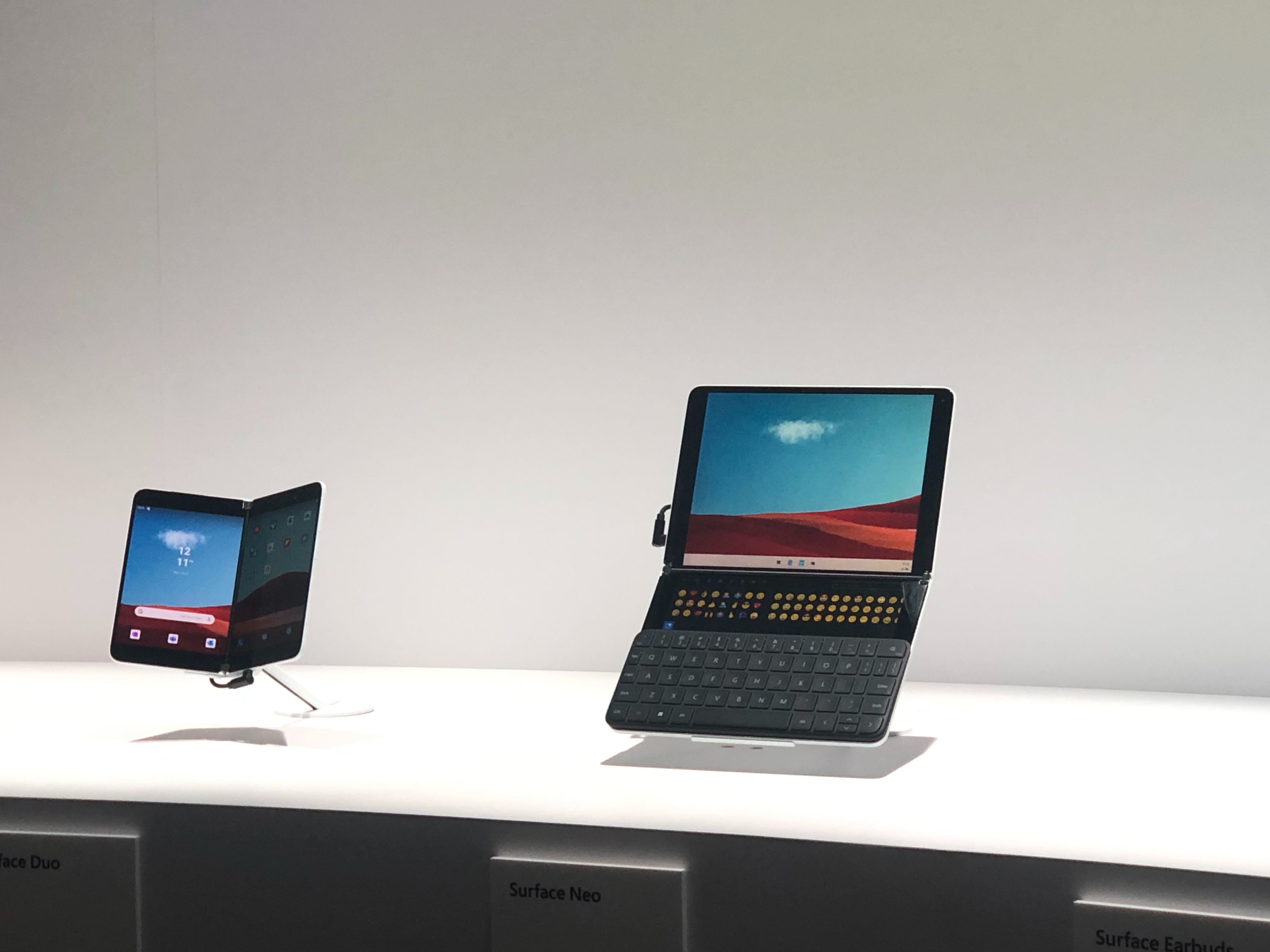 Microsoft Surface Neo and Duo