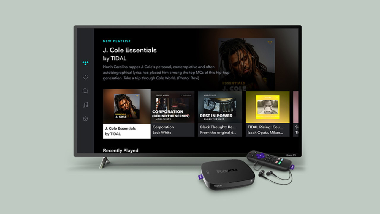 Tidal Channel on Roku