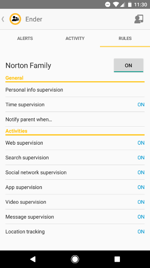Norton Family